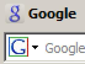 Neues und altes Google-favicon