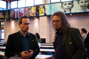 Henning Schürig und Till Westermayer auf der LDK 2009