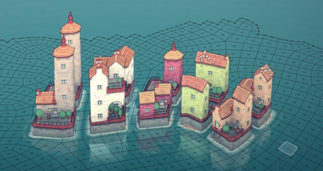Beispiele für Townscaper